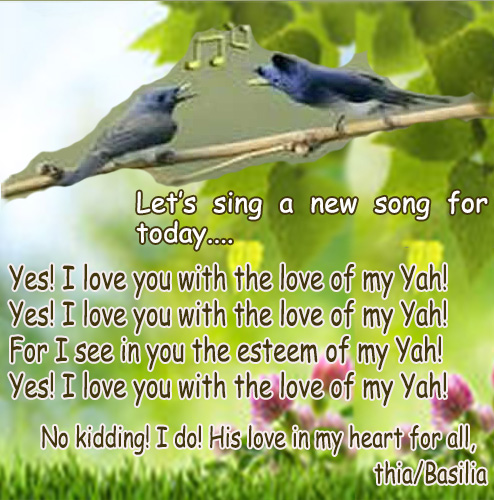 LETS SING NEW SONG BIRDS